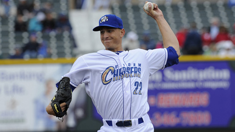 Mike Montgomery had a 2.84 ERA in his first seven starts this season.