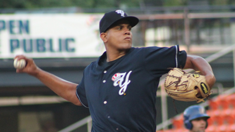 Dellin Betances posted a 3.42 ERA in 21 starts for Trenton.