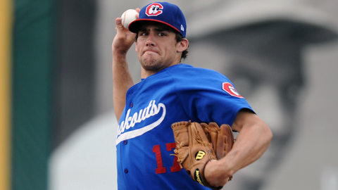 Nathan Eovaldi was the Dodgers' 11th-round pick in the 2008 Draft.
