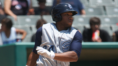 Jonathan Singleton is batting .316 with six homers in 43 games.