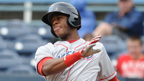 Anthony Hewitt is slugging .433 for Clearwater this season.