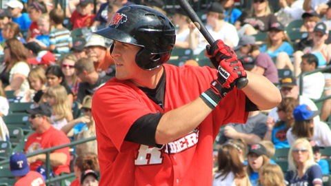Chris McGuiness averages a home run every 17.4 at-bats.